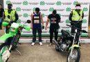 Capturados por realizar carreras clandestinas en moto