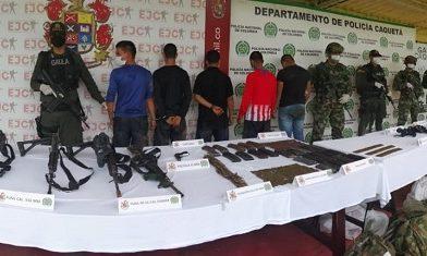 Fuertes combates con el Grupo Armado Organizado residual E-62 en Caquetá