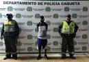 Policía capturó a un hombre y recuperó celular hurtado