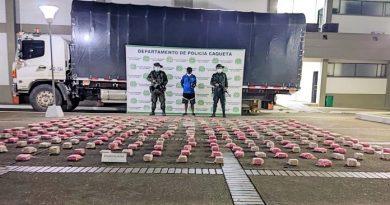 Autoridades evitan la comercialización de 220 mil 640 dosis de marihuana en Caquetá